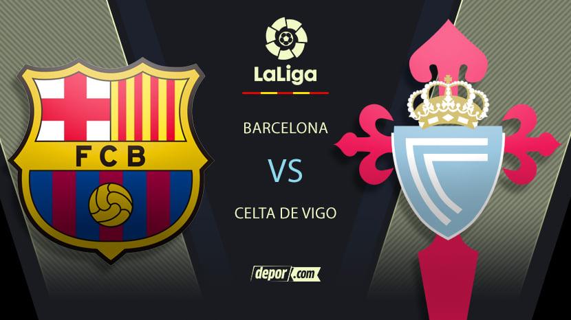 Barcelona vs. Celta de Vigo: transmisión y minuto a minuto del partido de LaLiga