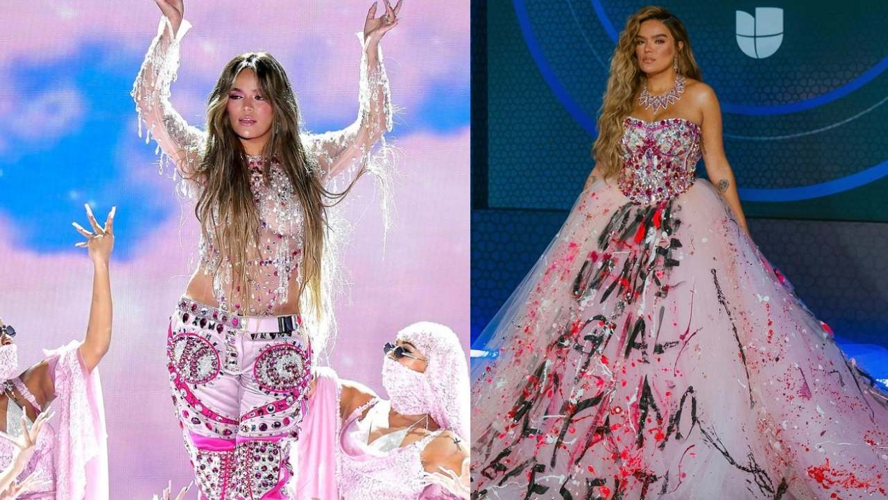 Latin Grammy 2020: Karol G y el por qué de su vestido rosa sobre el escenario | FOTOS