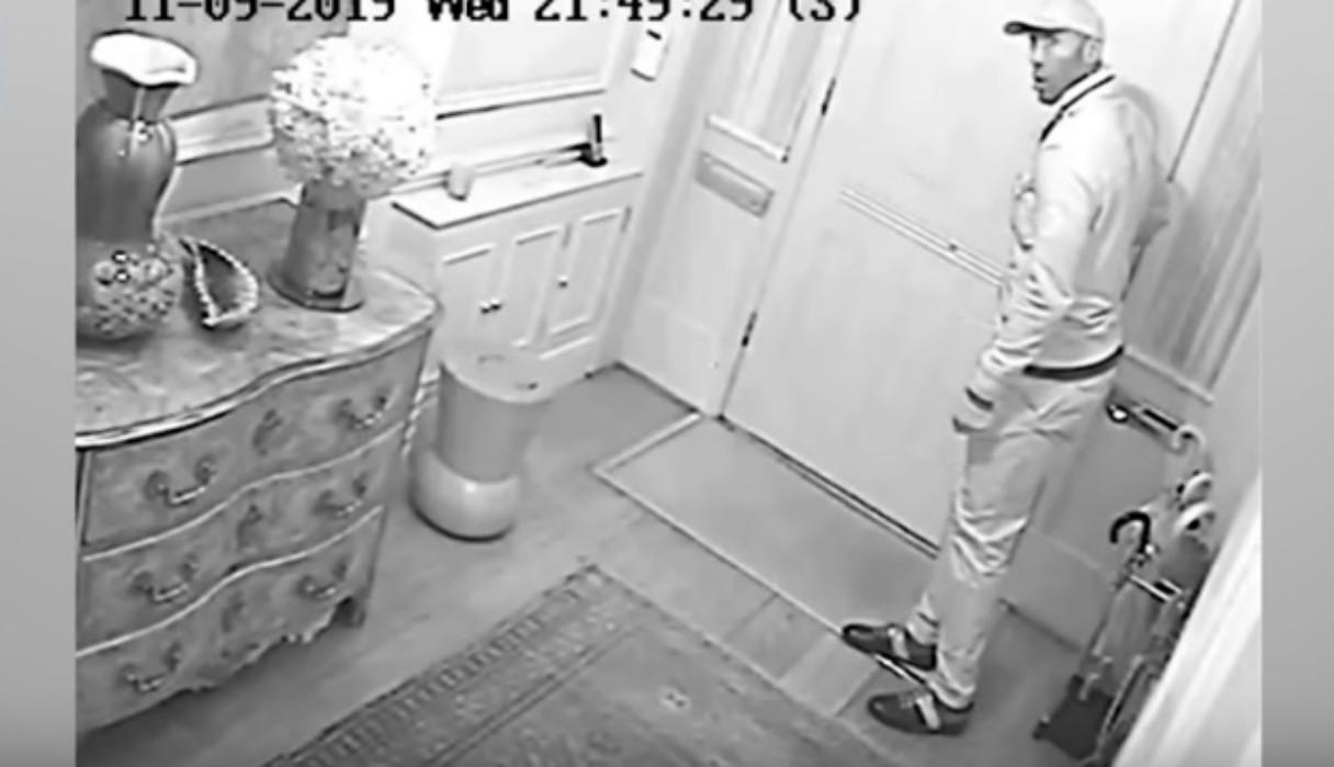 La insólita reacción de un ladrón al encontrarse con el dueño de la casa a la que había entrado a robar
