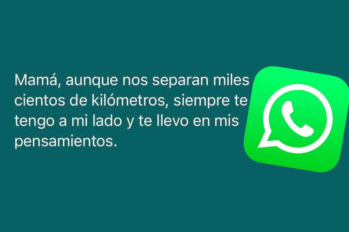 Las mejores frases para enviar por WhatsApp por el Día de la Madre