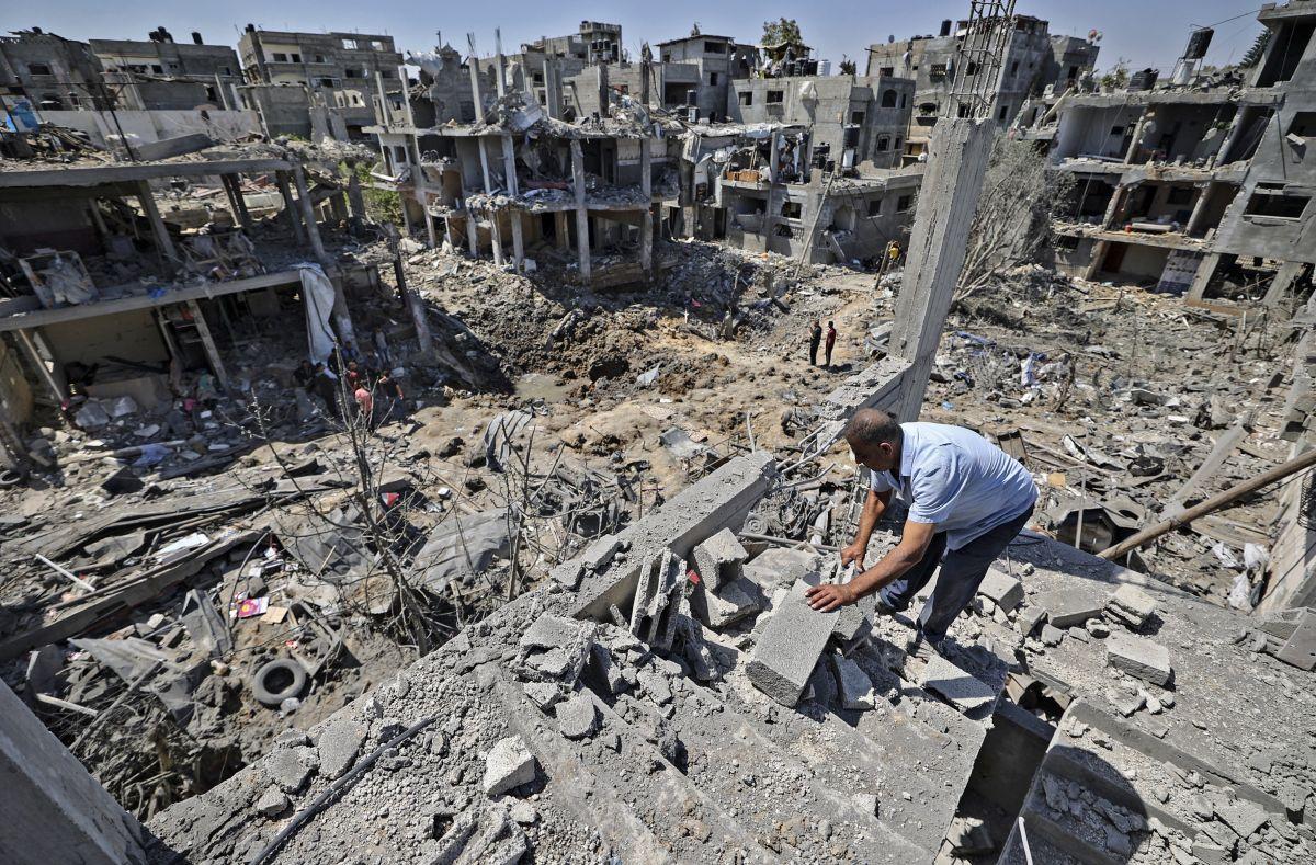 Al menos 119 palestinos muertos, 31 de ellos niños, en los intensos bombardeos de Israel en Gaza | FOTOS