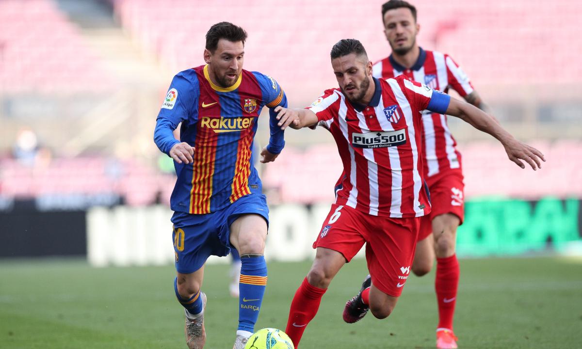Barcelona - Atlético de Madrid empataron 0-0 por LaLiga: resumen