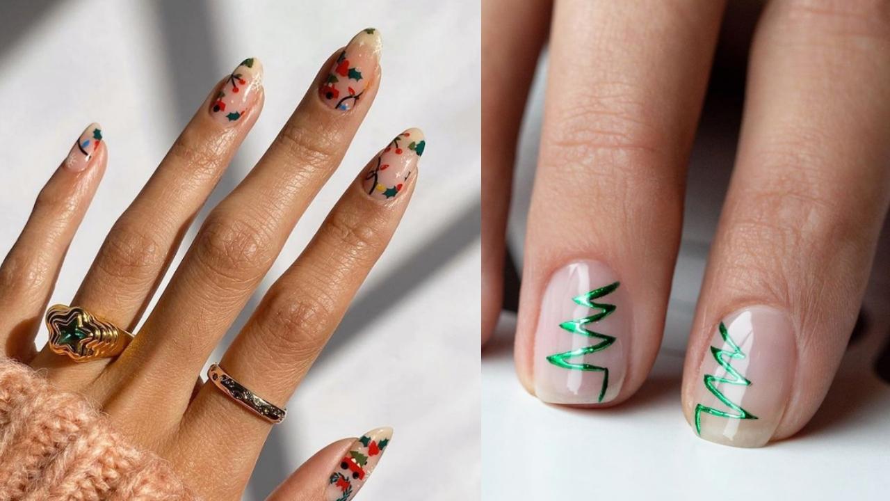 Belleza: 5 manicuras de uñas de inspiración navideña para estas fiestas