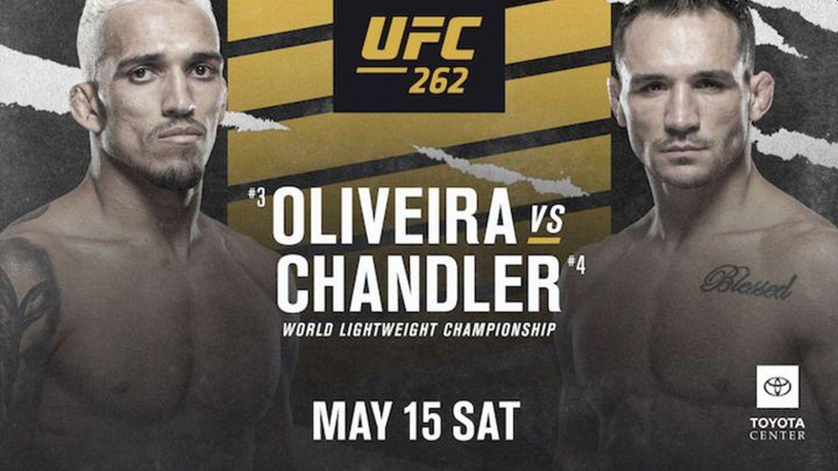 UFC 262 EN VIVO vía ESPN: Charles Oliveira vs. Michael Chandler por el título vacante de peso ligero