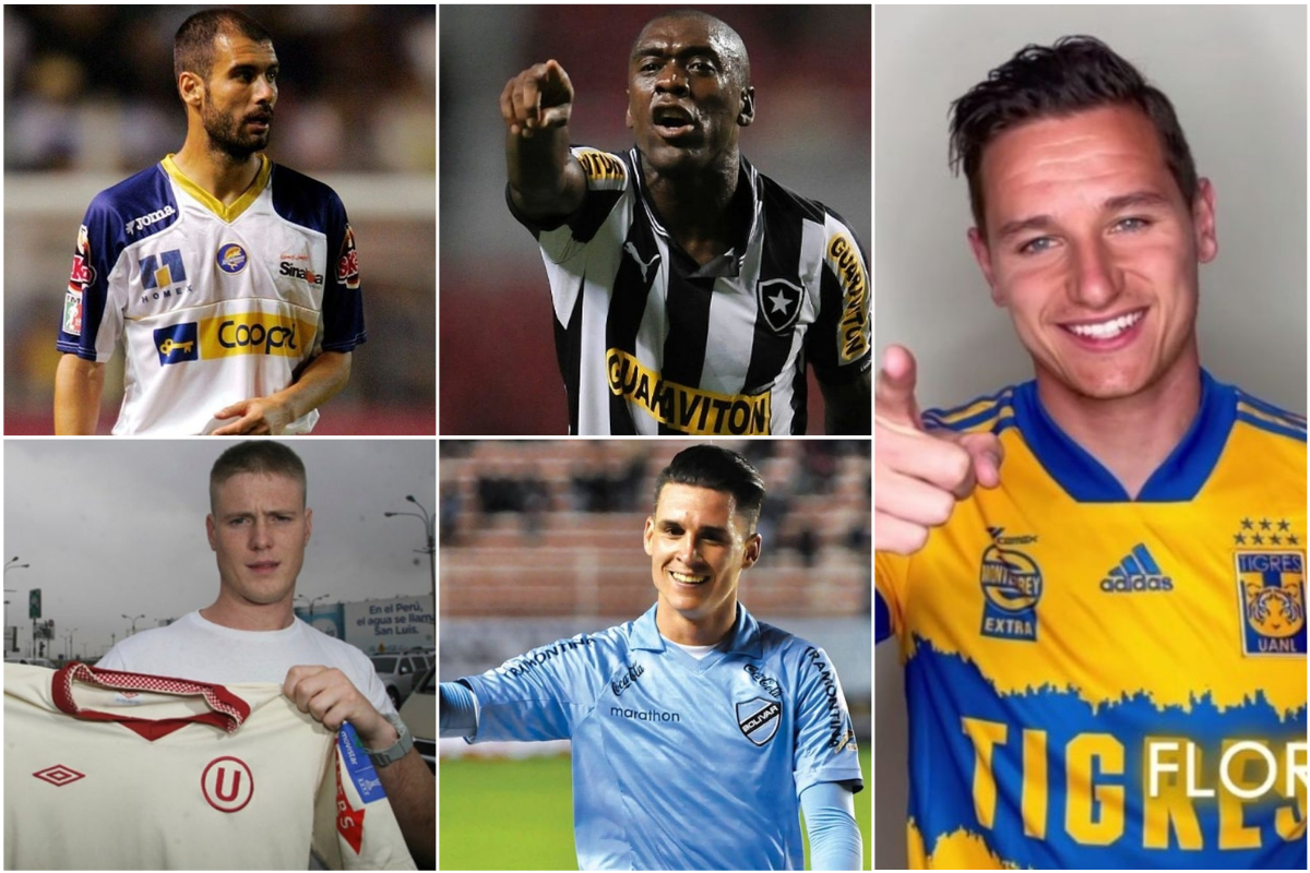 Como Thauvin a Tigres: otros jugadores europeos que pasearon su fútbol por América [FOTOS]