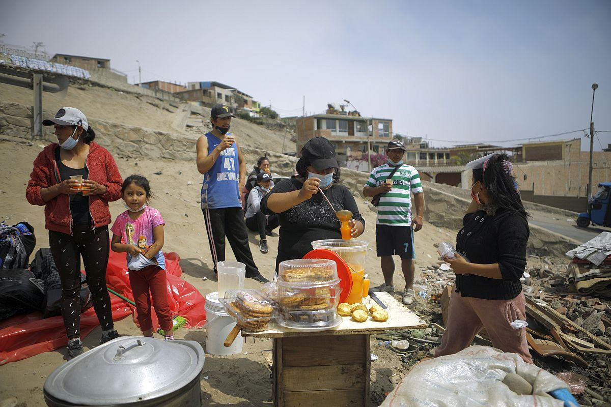 Más de 3 millones de peruanos cayeron en la pobreza en 2020, en medio de la pandemia