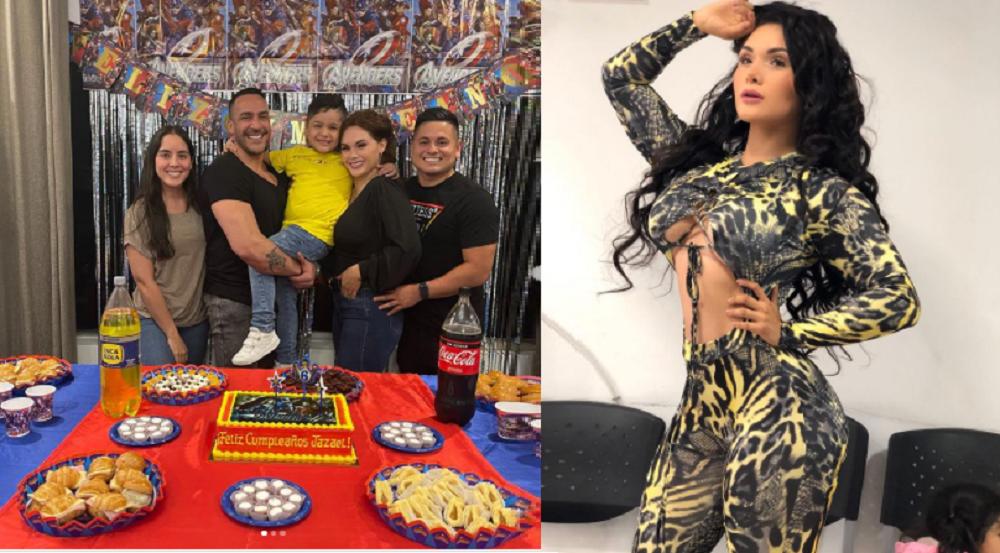 Génesis Tapia celebra el cumpleaños de su hijo junto a su esposo, expareja y su nueva novia (FOTOS)