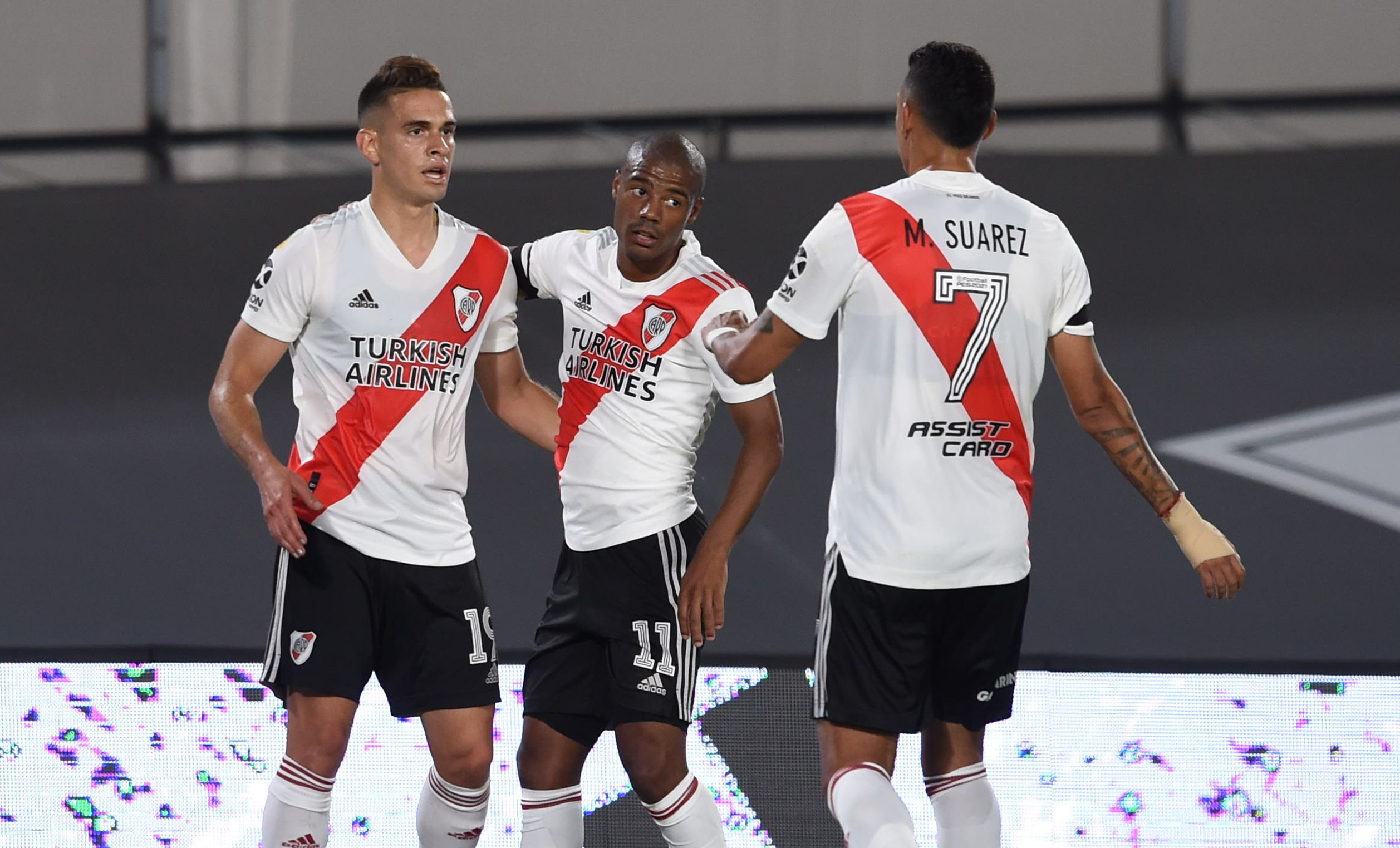 River Plate venció 3-0 a Rosario Central por la Copa de la Liga Profesional