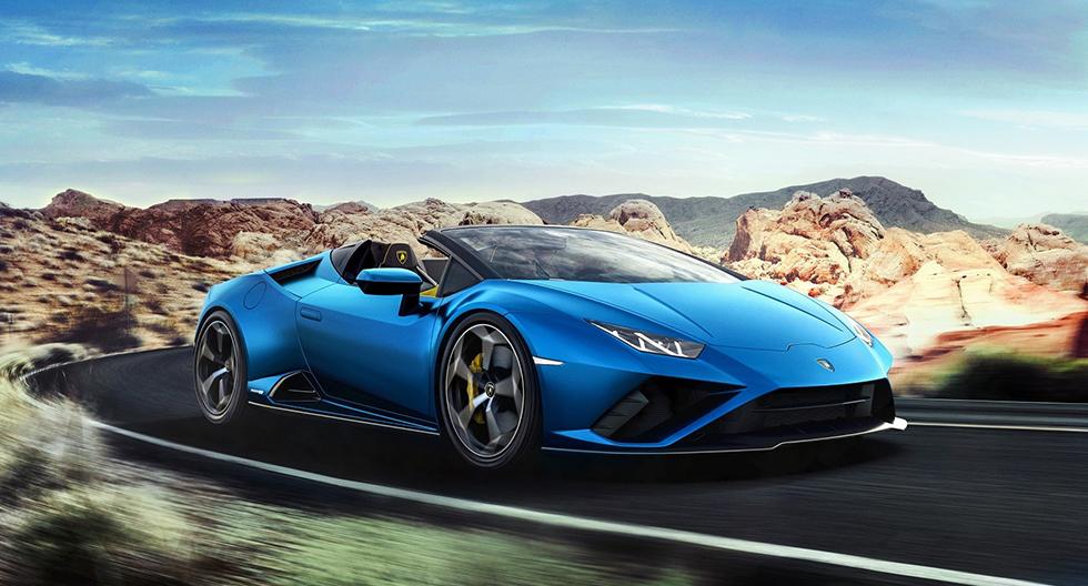 Lamborghini presenta al nuevo Huracan EVO Spyder RWD en medio de la cuarentena | FOTOS