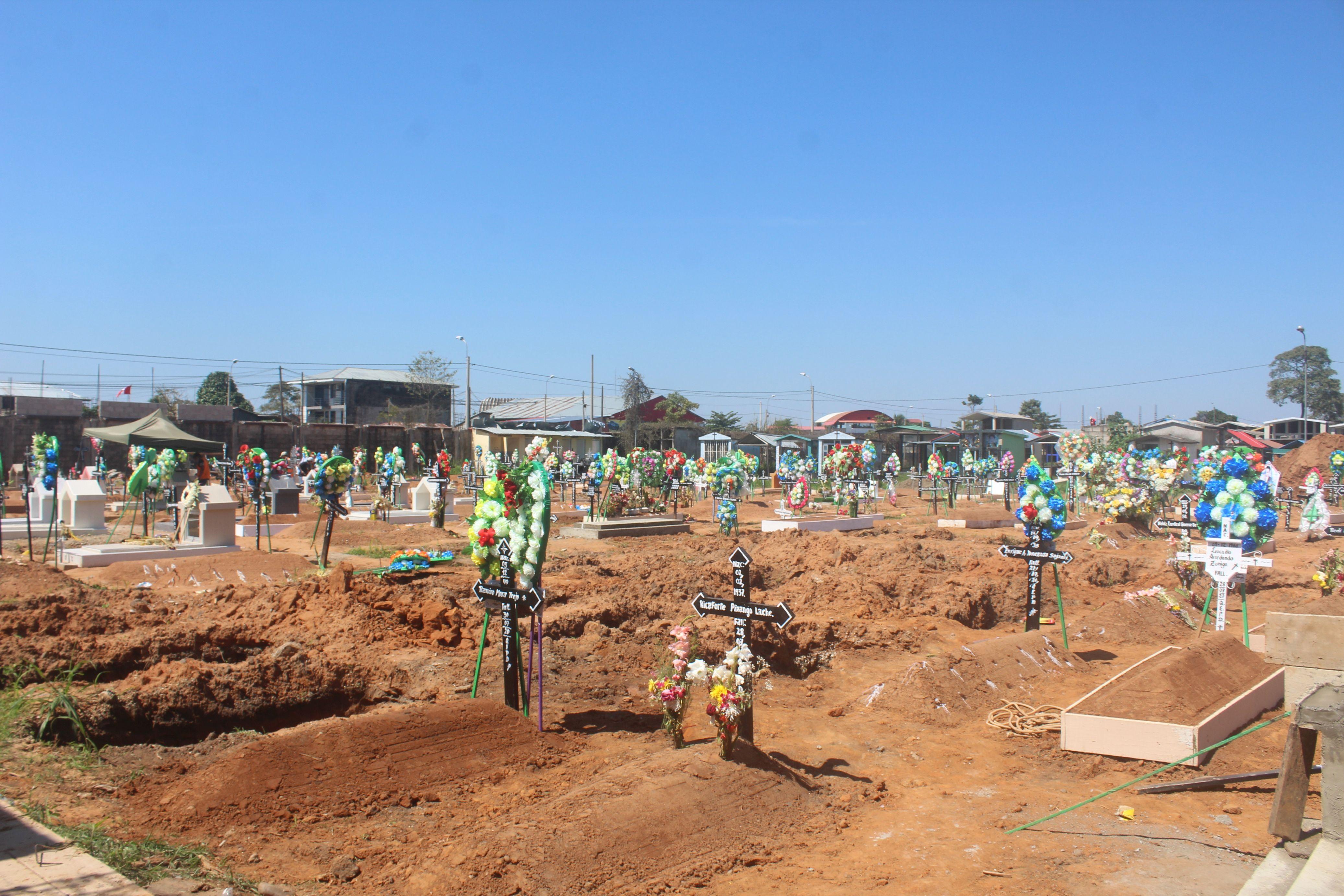 Madre de Dios: cementerio San Martín de Porres se encuentra colapsado