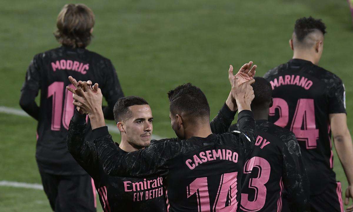 Real Madrid derrotó al Valladolid y acecha el liderato de LaLiga Santander