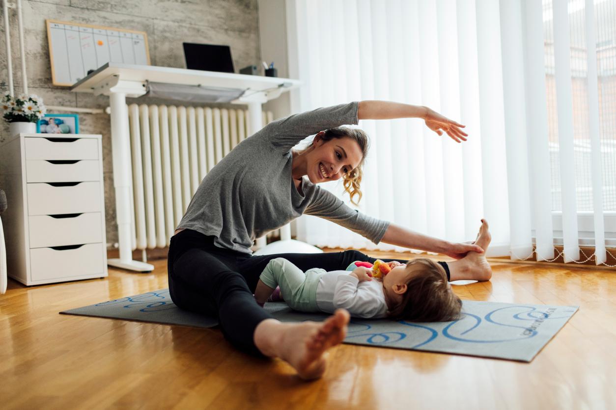 Día de la madre: cuatro ejercicios postparto para volver a estar en forma en tiempo récord
