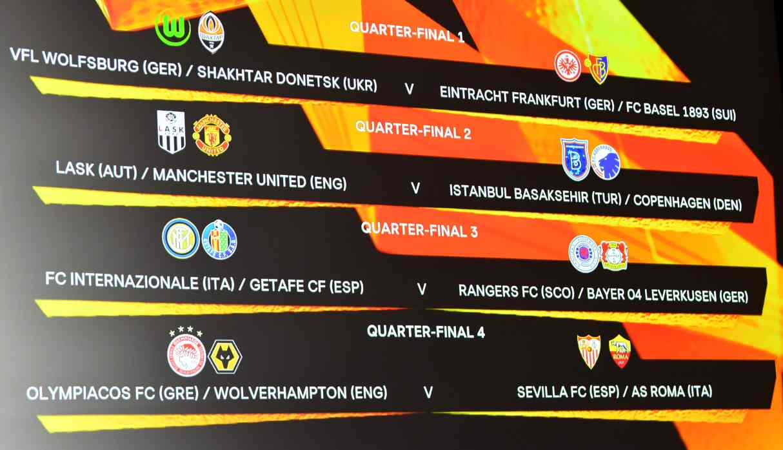 Europa League: así quedaron las llaves de cuartos de final del torneo