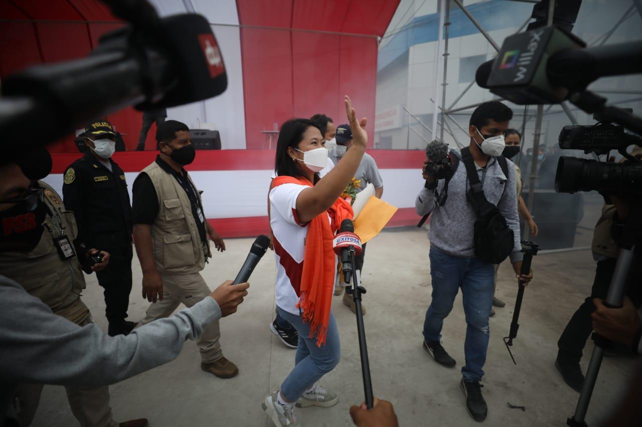 Elecciones 2021: estos fueron los eventos que encabezaron Pedro Castillo y Keiko Fujimori | FOTOS