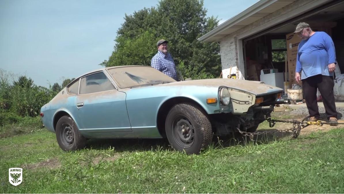 Volvió a la vida: este Datsun 280Z recibió su primera lavada luego de 44 años y quedó así | FOTOS