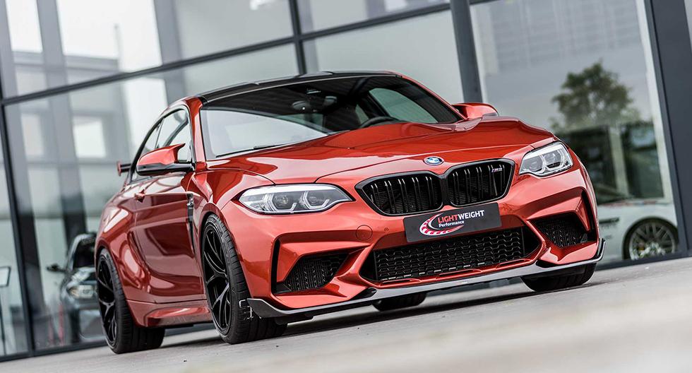 BMW M2 Competition de Lightweight pierde peso y alcanza los 487 hp | FOTOS