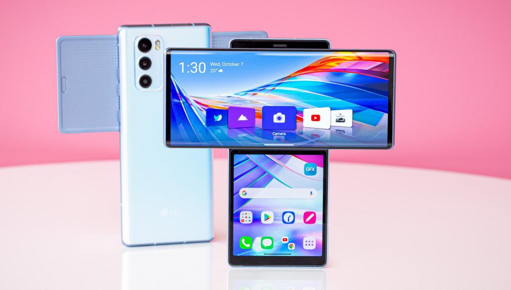 Los cinco celulares de LG más innovadores   FOTOS