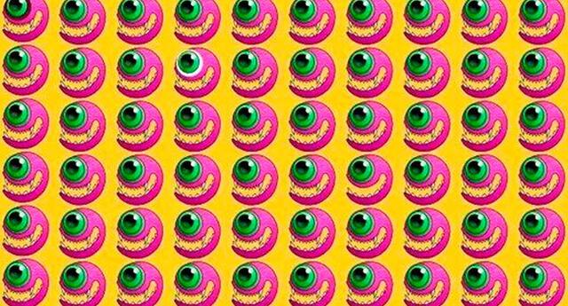 En solo 20 segundos: halla los ojos diferentes al resto de este reto viral [FOTOS]