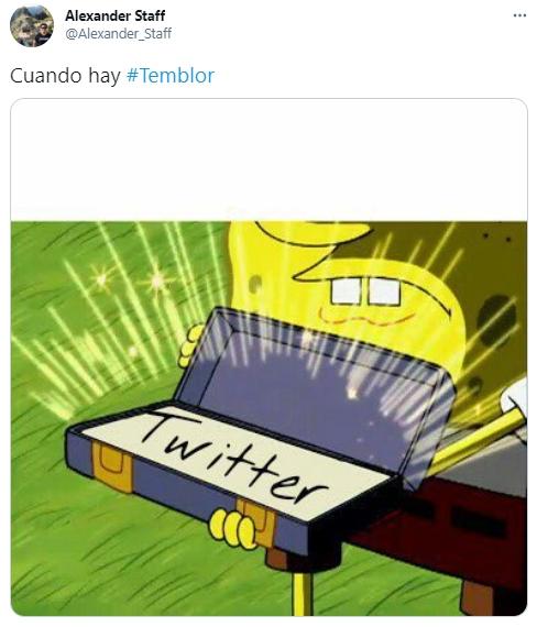 Temblor en Lima y usuarios corrieron a Twitter para viralizar memes tras remezón con memes   FOTOS
