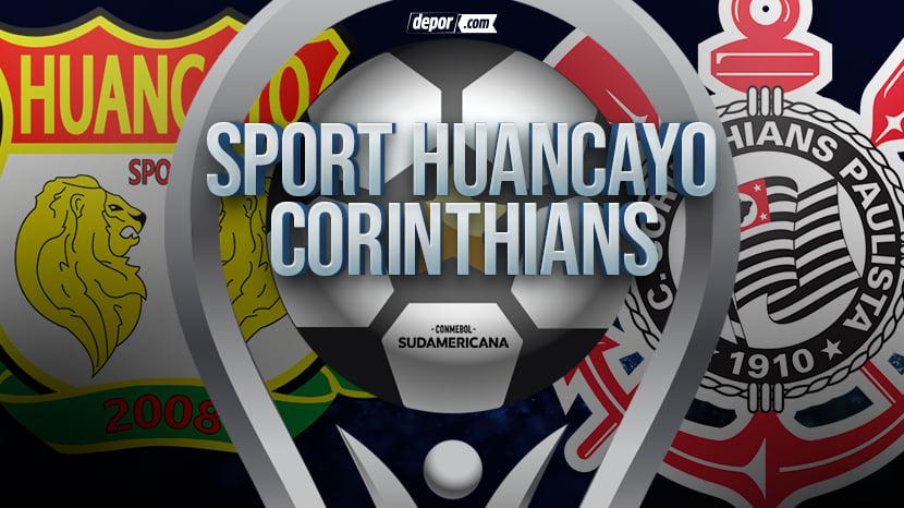 Sport Huancayo vs. Corinthians se medirán por la Copa Sudamericana 2021