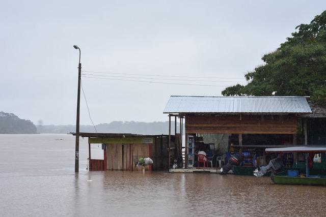 Madre de Dios: intensas lluvias provocan desborde de ríos en Puerto Maldonado | FOTOS