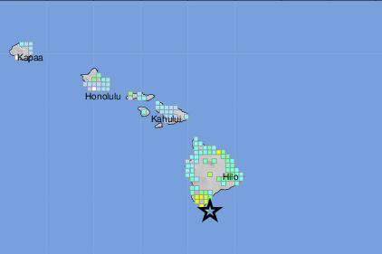 Sismo de magnitud 6,1 sacude Hawái