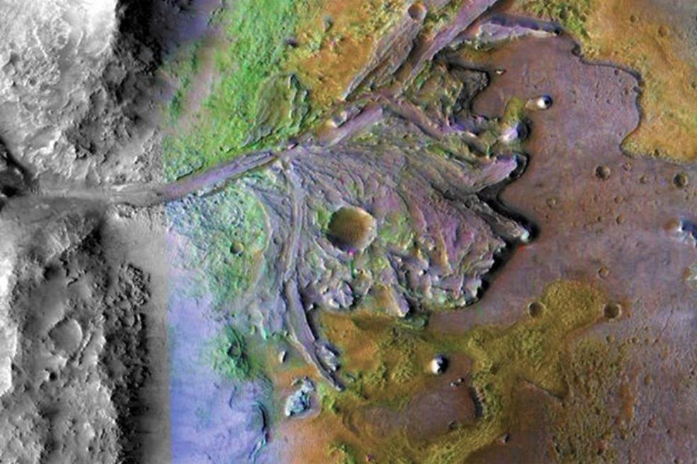 Cráter Jezero: el primer lugar de Marte en el que la Nasa buscará ...