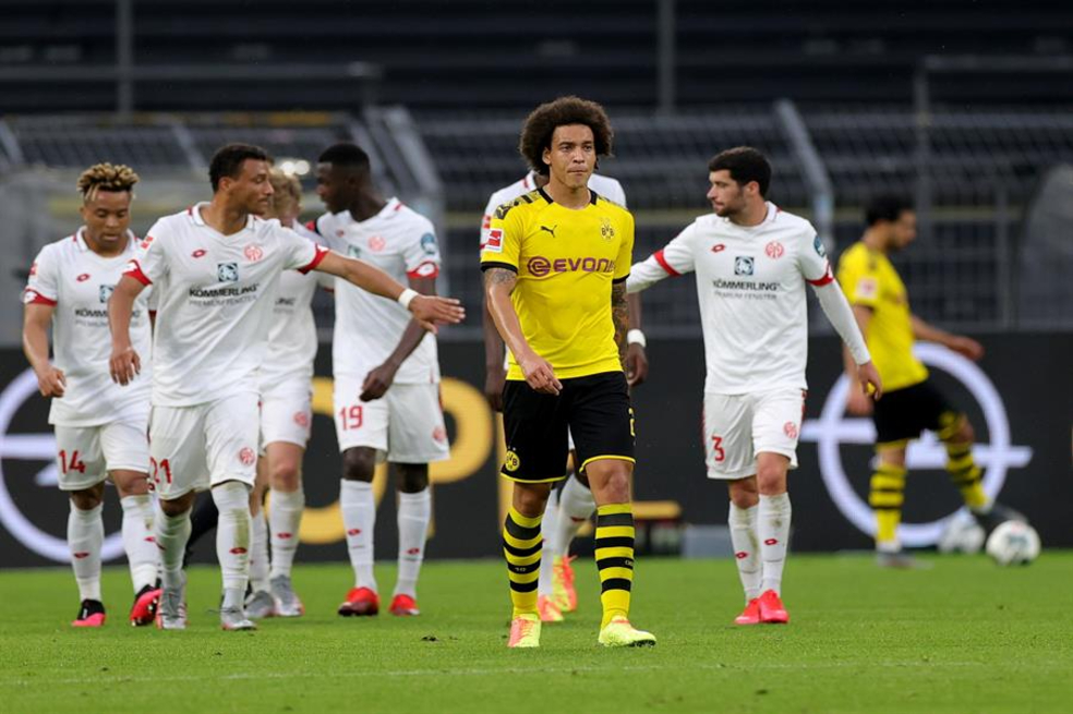 Bundesliga: derrota del Borussia Dortmund ante el Mainz 05 | EL ESPECTADOR