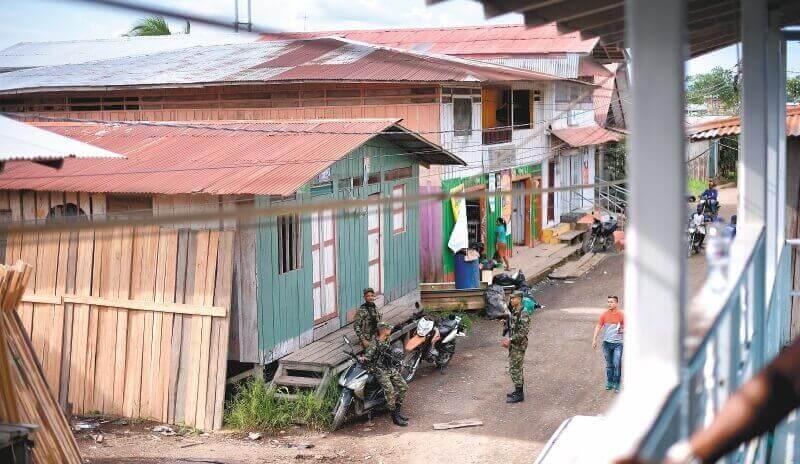 1.300 personas desplazadas por enfrentamientos de grupos armados en Alto  Baudó, Chocó | EL ESPECTADOR