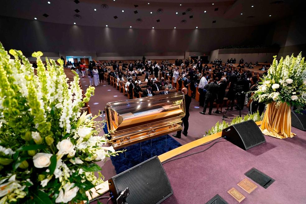 Así avanza el funeral de George Floyd en Houston (EE. UU.) | EL ...
