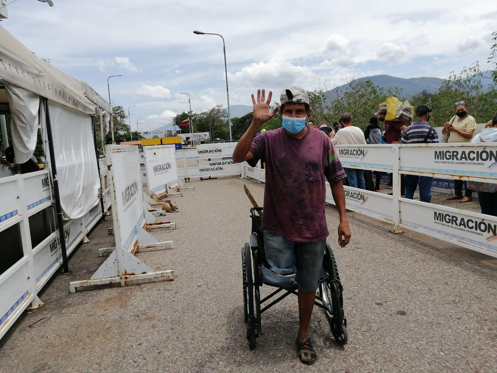 Así fue el primer día de apertura de la frontera en Venezuela