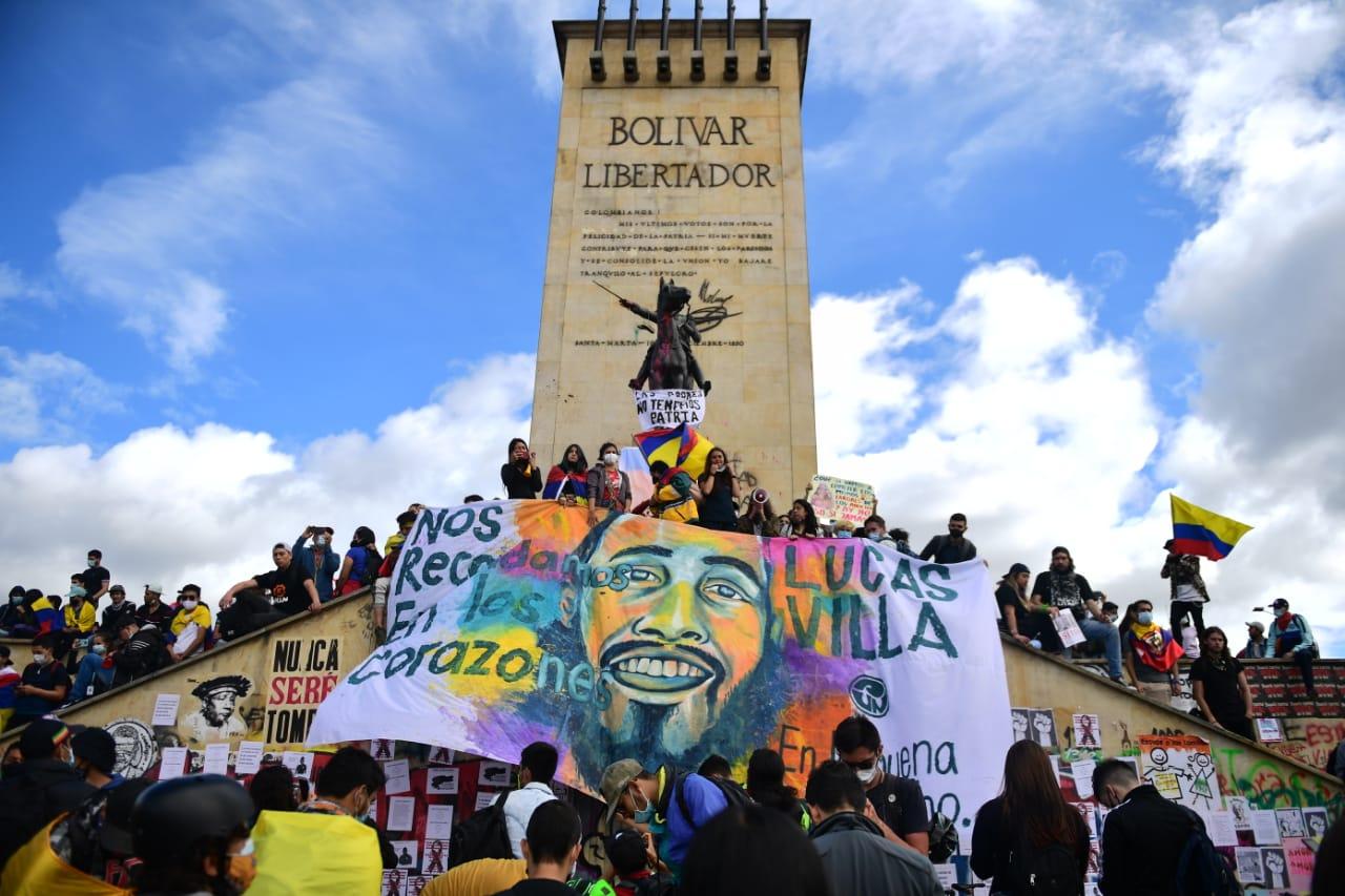 En vivo: Paro nacional en Bogotá este 15 de mayo