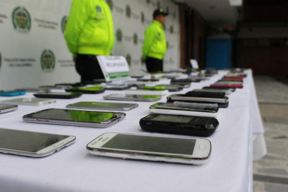 Resultado de imagen para celulares robados