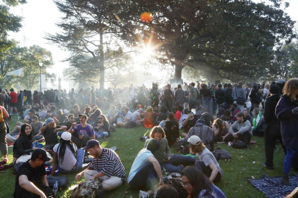 Tres días de fiesta por el Día Mundial de la Marihuana en EE. UU | EL  ESPECTADOR
