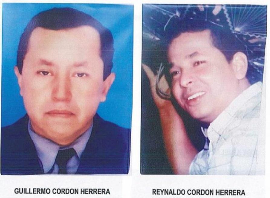 Guillermo y Reynaldo Cordon Herrera