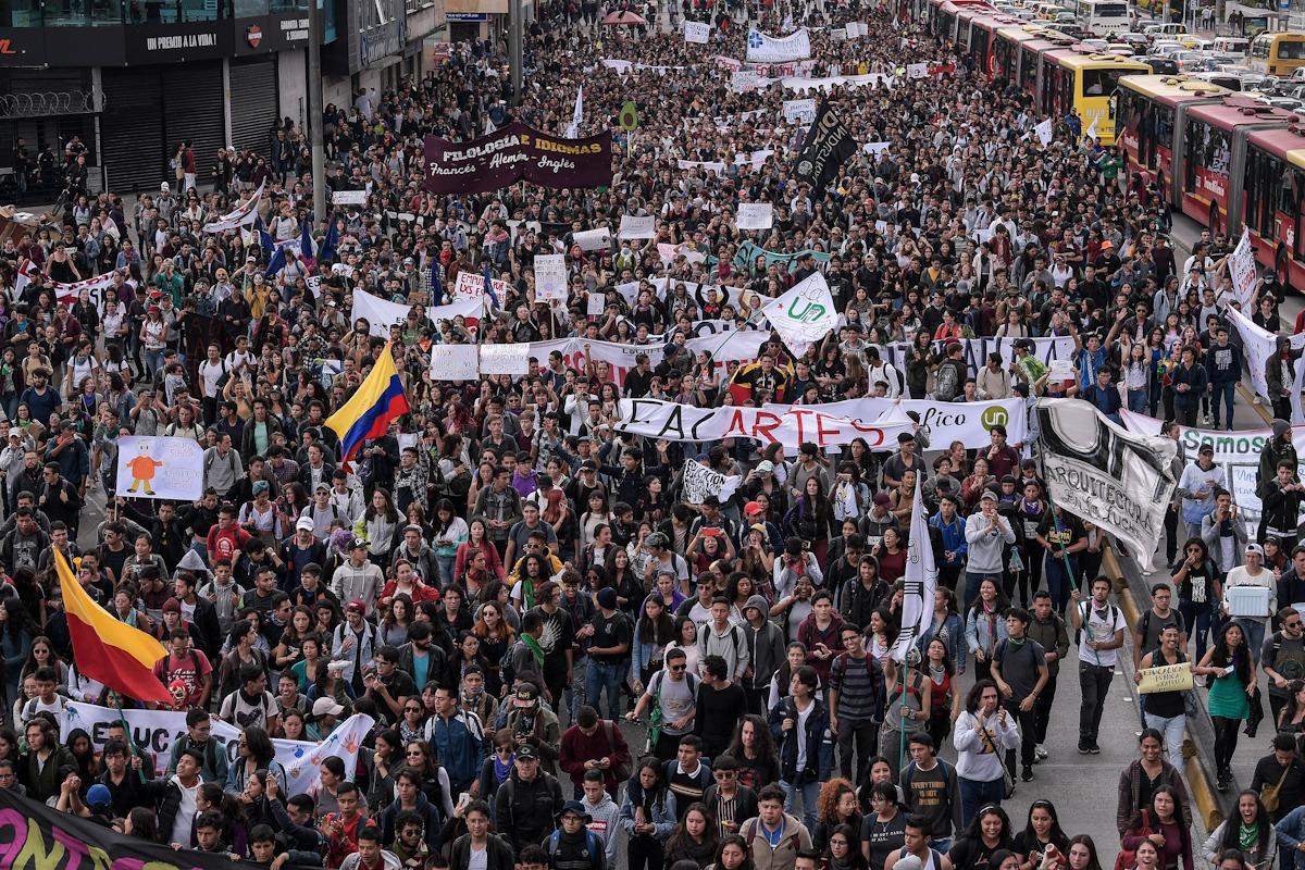 207 mil marchantes en el paro nacional? Una cifra oficial que podría ser  muy baja | EL ESPECTADOR