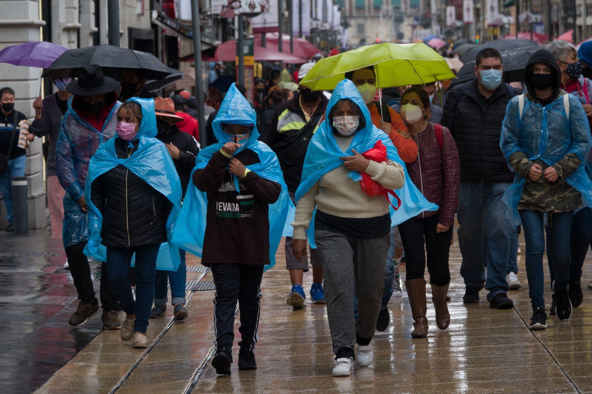 Saquen abrigos y paraguas: Conagua prevé lluvias y granizo en la CDMX, Edomex y otros estados