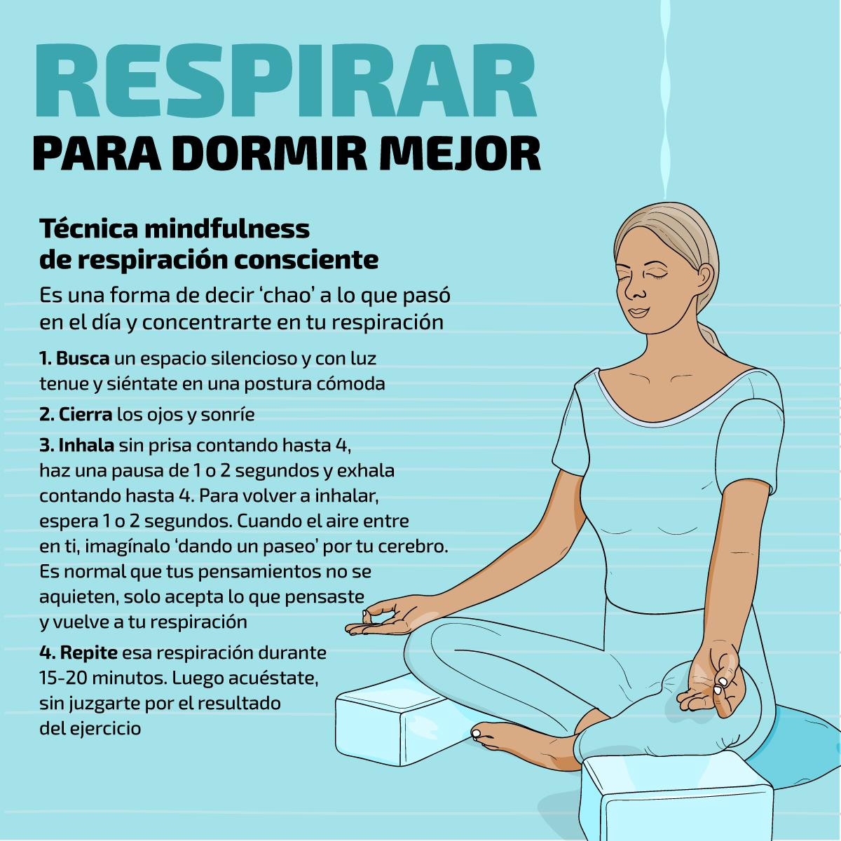 Coronavirus 5 Ejercicios De Respiración Para Dormir Mejor Salud La Revista El Universo