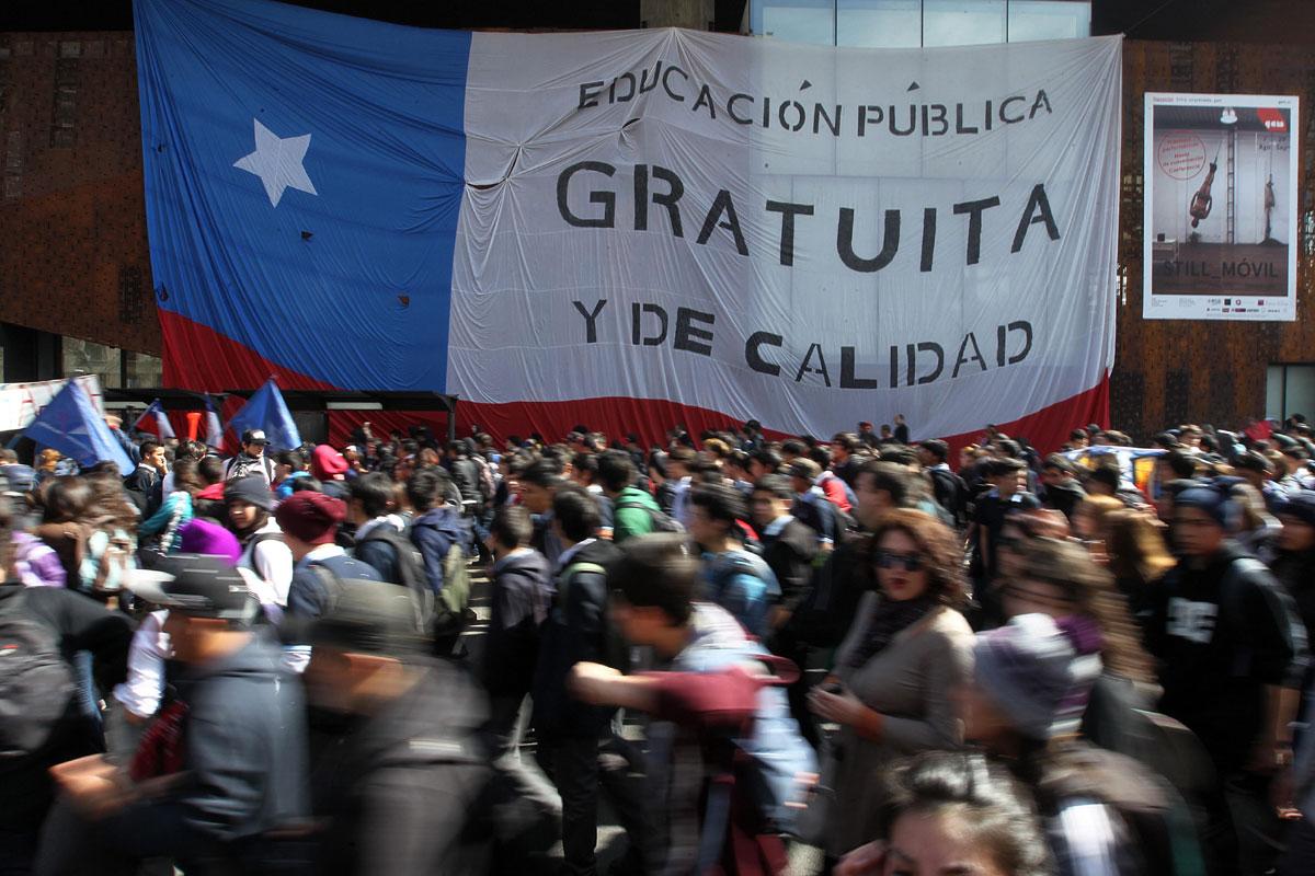 Estudiantes en Chile vuelven a protestar por reforma educativa | Internacional | Noticias | El Universo