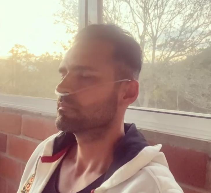 El actor Fabián Ríos narra como fue su dura batalla contra el COVID-19