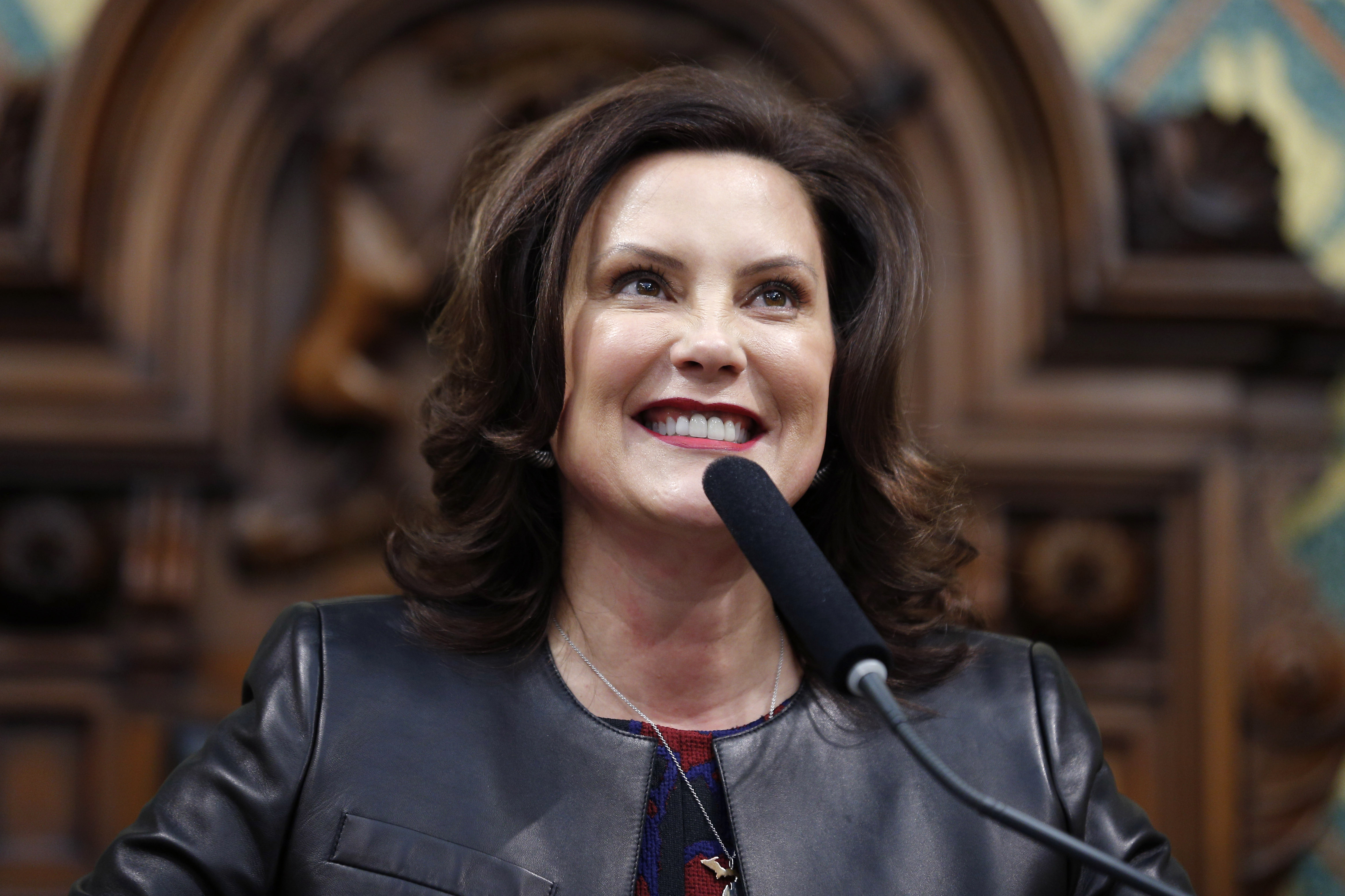 Michigan Gov Whitmer Explains What Her Shark Week Comment Meant