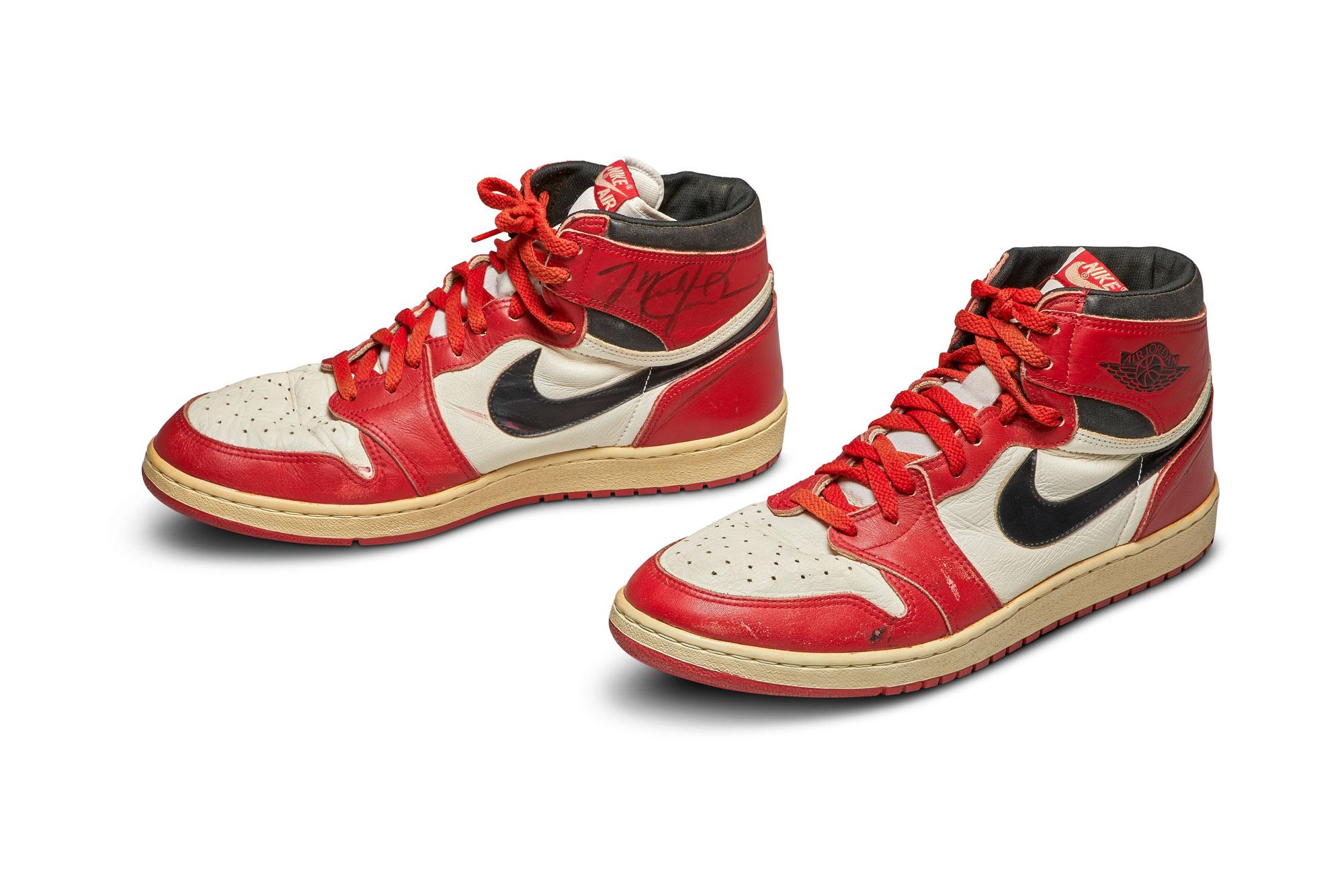 Michael Jordan's signature Air Jordan