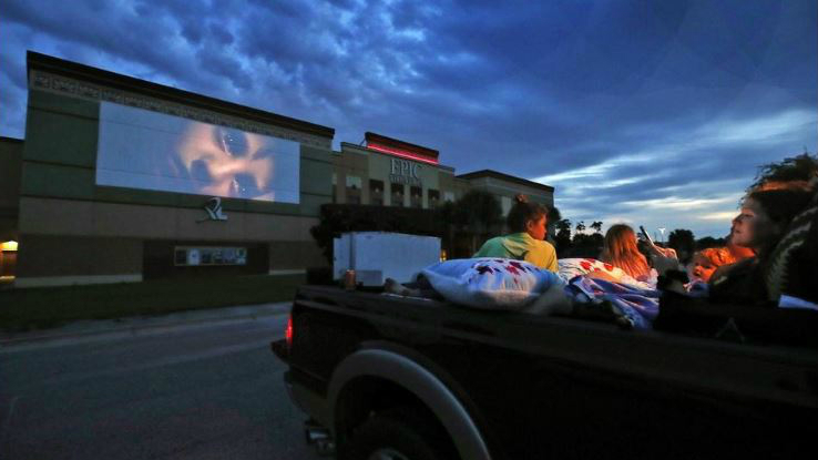 St Augustine Drive In Movie Theater Is Now Open