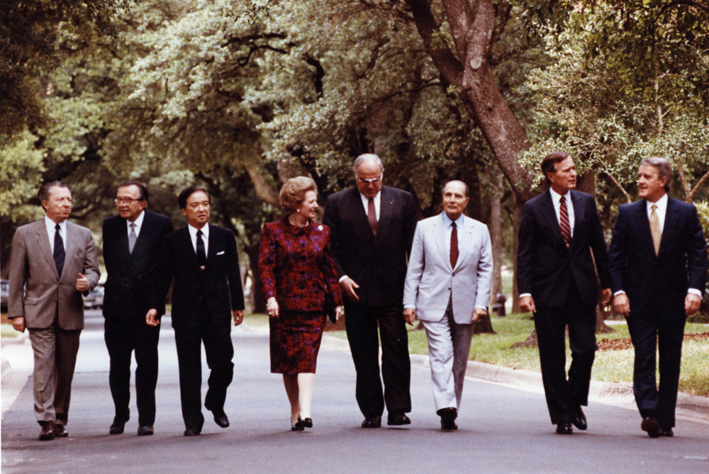 Remembering the G7 Summit held at Rice University 30 years ago