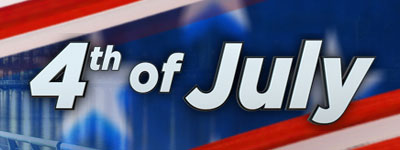 4th of July page banner