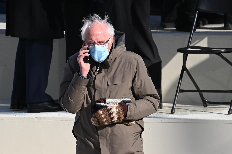 Bernie Sanders Spawns Splash Of Memes With Inaugural Attire