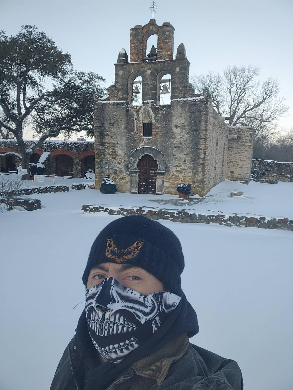 San Antonio Airport Snow