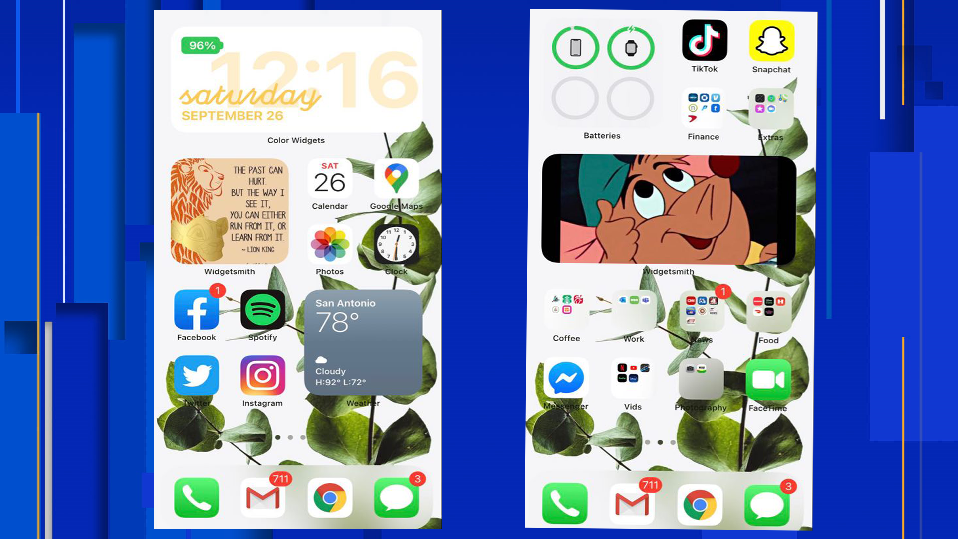 Here S How To Customize Your Iphone Home Screen With Widgets App Icons