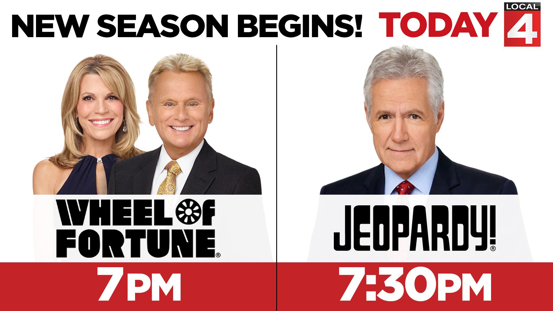 Tonight New Seasons Of Wheel Of Fortune And Jeopardy