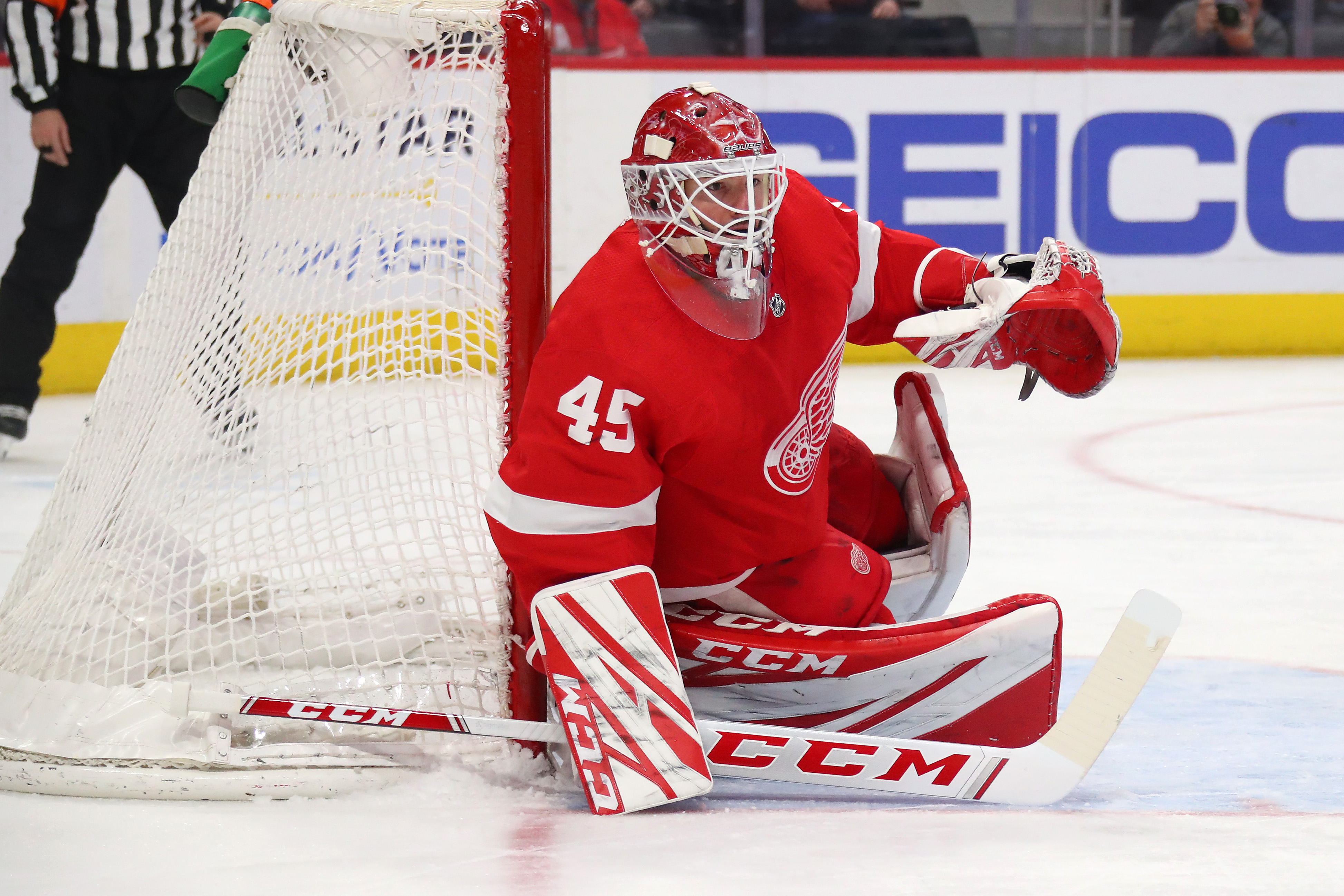 Image result for thomas greiss red wings